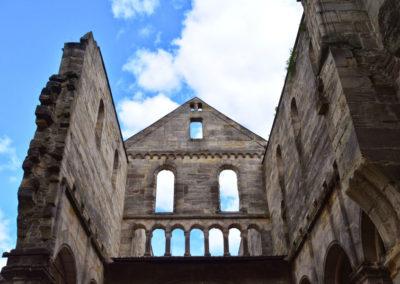 Die Klosterruine Paulinzella - eine ehemalige Klosterkirche
