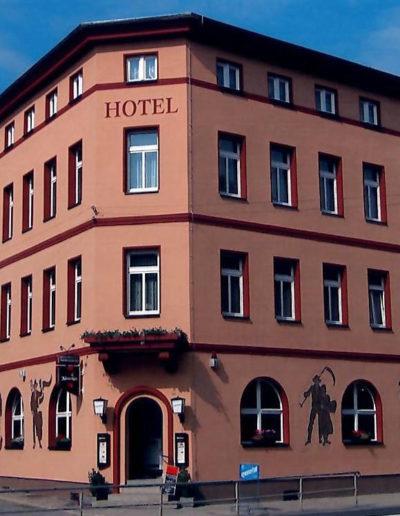 Ansicht vom Hotel Thüringer Hof 2008