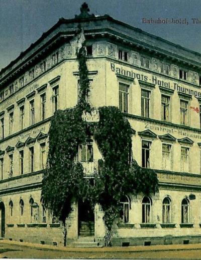 Die Ansicht um 1915