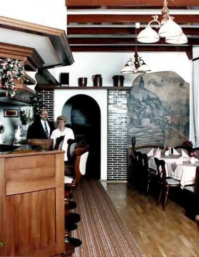 Der Gastraum 1992