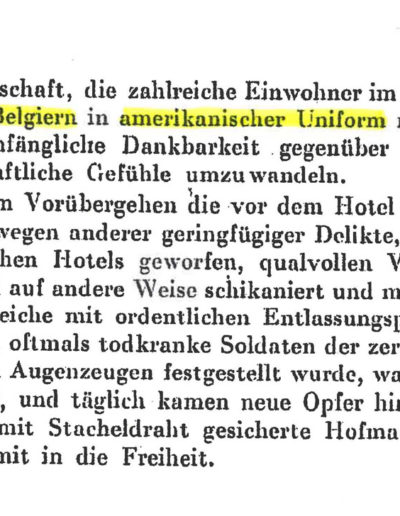 Zeitungsausschnitt April 1945